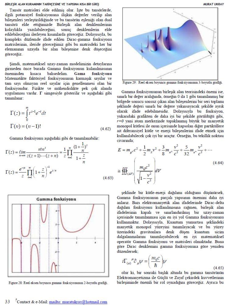 birleşik alan teorisi3