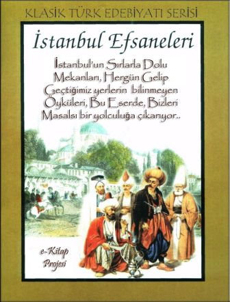 İstanbul Efsaneleri (Cover Art)
