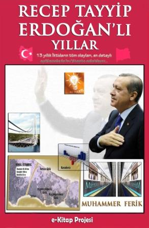Recep Tayyip Erdoğanlı Yıllar (Kapak2)