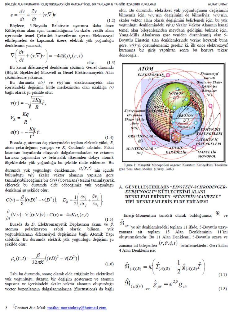 birleşik alan teorisi4